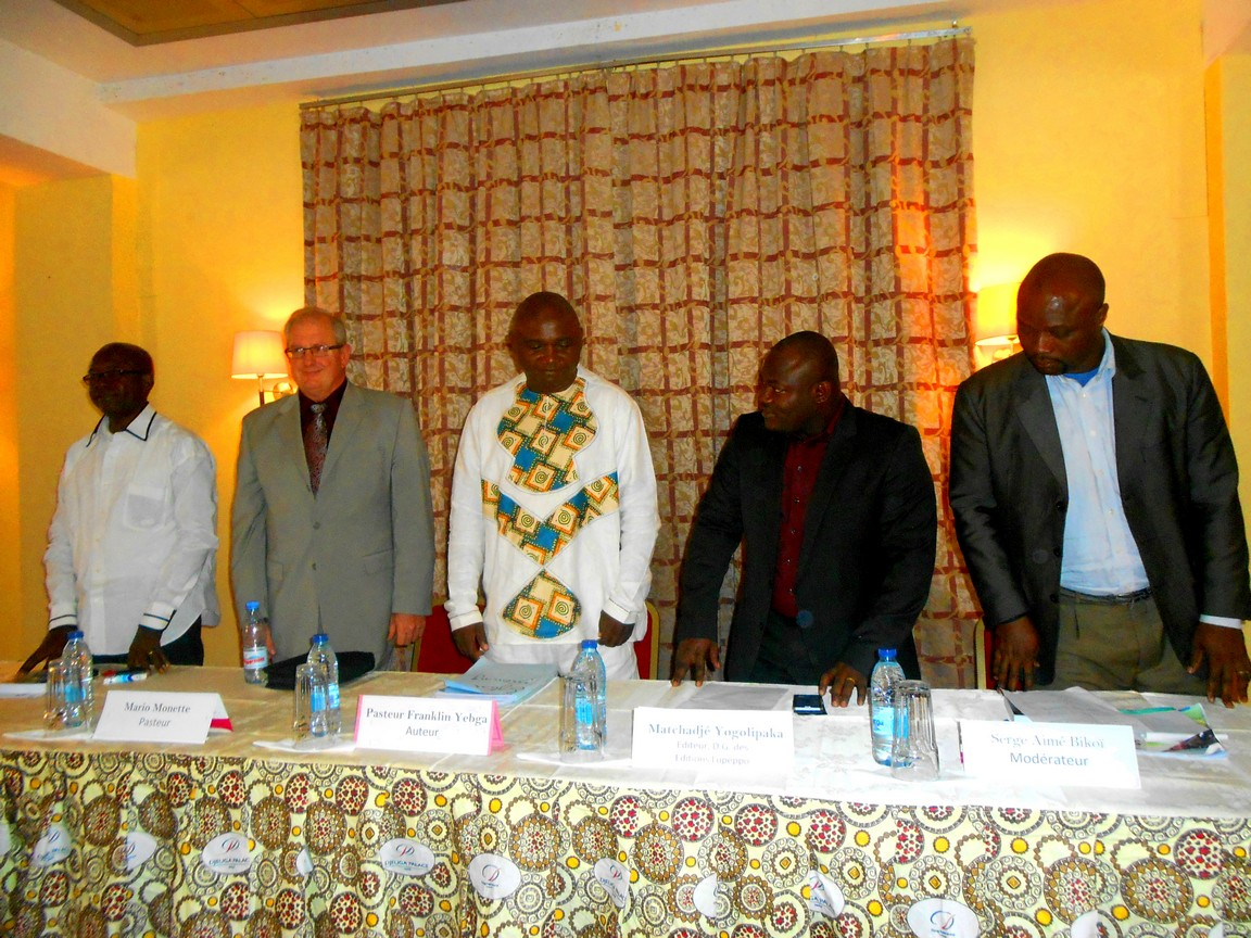 Conference in Cameroun with Pastor Mario Monette (2015)