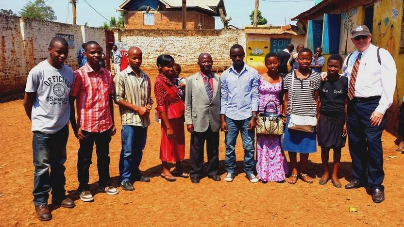 Pastor Mario Monette preaches in Congo, Africa (2015)