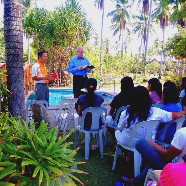 Conference in the Philippines with Pastor Mario Monette (2015)