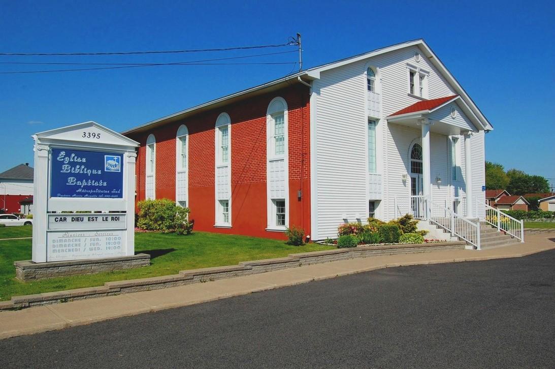 Église Biblique Baptiste Métropolitaine Sud (EBBMS), Montreal Quebec