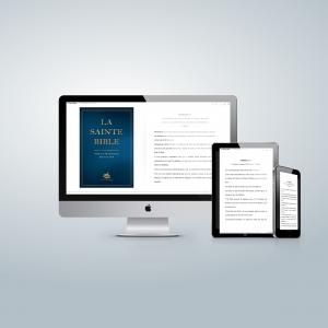 Bible Ostervald 2018: numérique